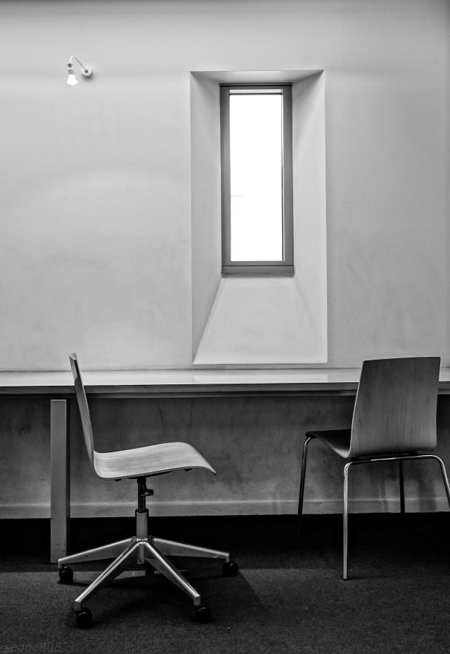 chair & wondow study