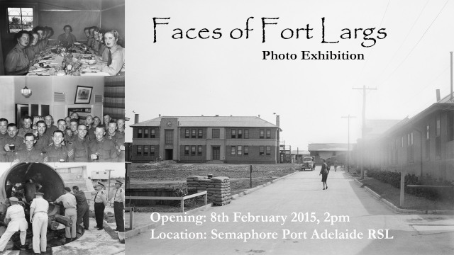Face of Fort Largs Exhibition