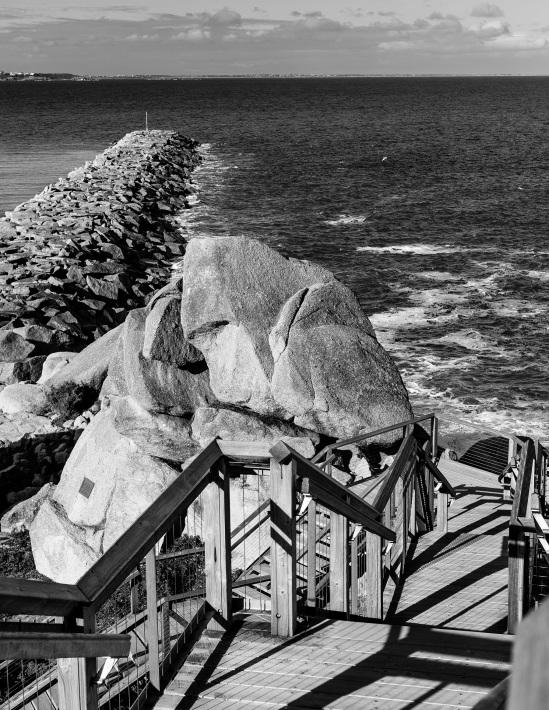 granite island