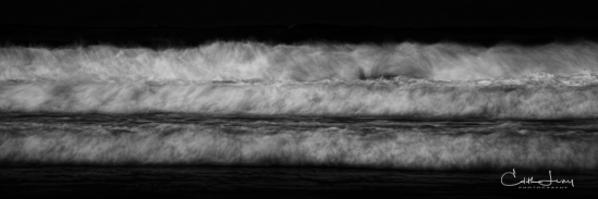 Tel Aviv, Israel, water, sea, wave, long exposure, black and white, BNW, fine art photography