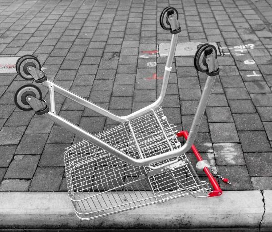 cart down