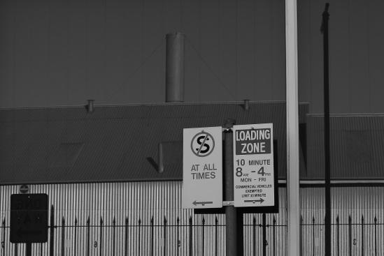 $ loading zone