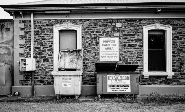 private parking